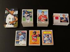 2019 HERITAGE MINORS COMPLETE MASTER SET WITH BOX LOADERS & RELICS 320 CARDS