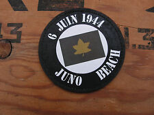 "SNAKE PATCH "" 6 juin 1944 JUNO BEACH "" US D DAY canada canadian TANK normandy"