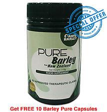 Certified Pure Organic Barley Grass Powder - FREE 10 Barley Pure Capsules