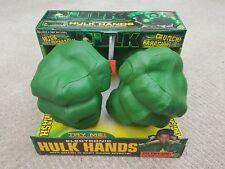 HULK ELECTRONIC Hulk Mani con Smash 'n Bash effetti 2003 TOY BIZ Nuovo di Zecca