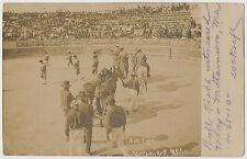 Bull Fight, Matamoros, Mexico 1910 RPPC