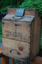 Macy & Jenkins Whiskey Advertising Bottle Crate Ny Edgar Harrison Prohibition