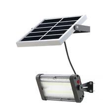 Solar Flood Light 15W Wide Lighting Shed light barn light w/ remote Control
