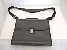 """McKlein USA 15"""" Leather Laptop Briefcase Black"""