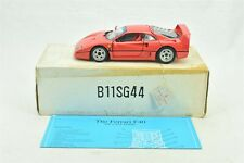 Franklin Mint Ferrari F40 Die Cast Car Red 1:24 1989