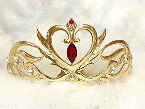 Serenity Neo Queen Tiara Sailor Moon Crystal Rhinestone Metal Crown Princess