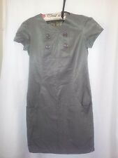 Dazzling ladies dress khaki size S dressy/career