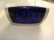 75904 Equity Jumbo Blue LED Digital Alarm Clocks