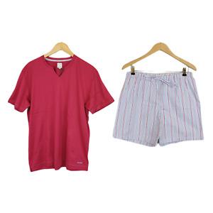 Julipet Size L Set Pajamas Man Shorts 100% Cotton Model Taddeo