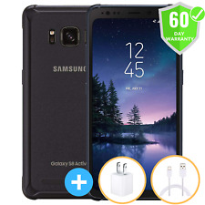 Samsung Galaxy S8 Active G892  64GB - Meteor Gray UNLOCKED Smartphone SHADED