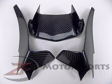 2015-2017 R1 R1M Upper Front Nose Air Intake Scoop Cover 100% Carbon Fiber Blue