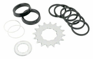 Wheels Manufacturing Angled Spacer Single Speed Conversion Kit With Chain Guides