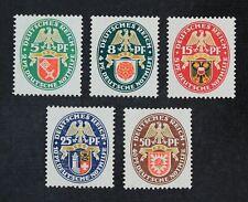 CKStamps: Germany Stamps Collection Scott#B28-B32 Mint H OG