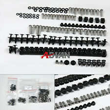 Full Set Body Fairing Bolt Kit Fasteners Nuts Screw Yamaha R1 2004-2006