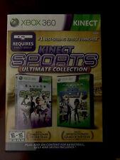 Kinect Sports Season 1 and Season 2 Bundle Lot Xbox 360 Kids Family Games