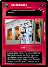 Cloud City Occupation [played] SPECIAL EDITION star wars ccg swccg