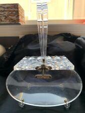 Rare Vintage Lucite Florida Handbags Lucite Purse Bag NR!