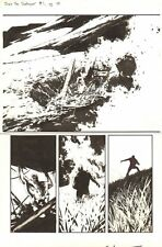 Drax the Destroyer #1 p.10 - 1/2 Splash - 2005 art by Mitchell  Breitweiser