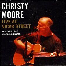 CHRISTY MOORE - LIVE AT VICAR STREET: CD ALBUM (2002)