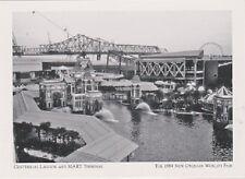 """+PC-Postcard-""""Centennial Lagoon & MART Terminal"""" @ 1984 N.O.World's Fair (A18-3)"""