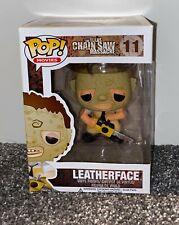 Nuevo Oficial FUNKO POP MOVIES Texas Chainsaw Leatherface #11 Figura De Vinilo