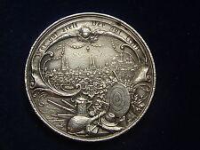 Schützenmedaille 1897 XII. deutsche Bundesschießen in Nürnberg W/16/108