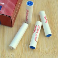 40PCS Rolling 9mm Stuck Spezial Aktivkohle Tobacco Pipe Filters