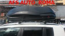 BOX AUTO PORTAOGGETTI PORTATUTTO BAULE REEF 580 SU BARRE THULE RENEGADE 2016
