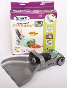 LOT 4x Euro-Pro Shark Grab n Bag Touch-Free Powered Wet/Dry Pet Pooper Scooper