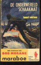 BOB MORANE EO 60s Echec à la Main Noire Edition Néerlandaise Henri VERNES boek
