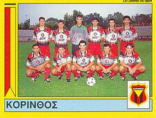 N°357 TEAM APO KORINTHOS GREECE PANINI GREEK LEAGUE FOOT 95 STICKER 1995