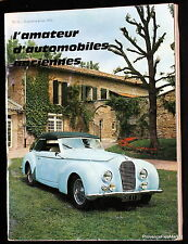 AMATEUR D'AUTOMOBILES OLD No. 16 1973