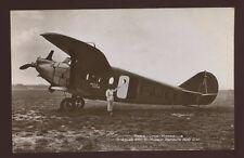 Aviation PARIS-LYON-MARSEILLE Breguet F-AJKY  Rapid Azur early RP PPC