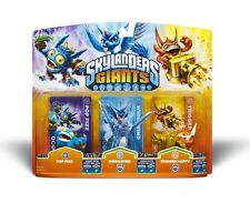 Skylanders Giants POP FIZZ WHIRLWIND TRIGGER HAPPY Triple Pack NISB Swap Force