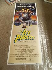 ICE PIRATES(1984) ROBERT URICH ROLLED INSERT MOVIE POSTER NICE ART SCI FI