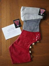 NWT Lady GAGA Red Claw Boot Christmas Stocking BARNEYS NY Gaga's Workshop 2011