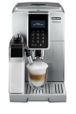 NEW Delonghi Dinamica Fully Automatic Coffee Machine: Silver: ECAM3507SS