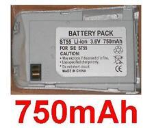 Batería 750mAh tipo V30145-K1310-X268-1 EBA-595 para SIEMENS ST60