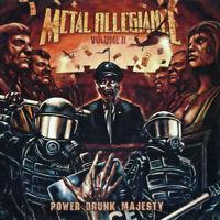 METAL ALLEGIANCE Volume II Power Drunk Majesty 2018 10-track CD album NEW/SEALED