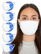 Relaxsan SET 5 Fasce viso in tessuto batteriostatico lavabili riutilizzabili