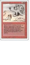 MTG 4X REVISED EDITION ROCK HYDRA MINT MAGIC THE GATHERING ENGLISH RED RARE CARD