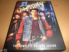 21 JUMPSTREET season 2 dvd JOHNNY DEPP Brad Pitt J Priestly Christina Applegate