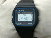 Casio men Watch Digital Multi Function Wrist Watch F-91W Chronograph Water Resis