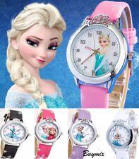 Frozen Wrist Watch Girls Princess Elsa Anna Children Birthday Gift Stocking