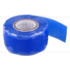 Self Fusing Silicone Performance Repair Tape Bonding Rescue Wire Hose Tape Blue