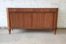 Michael Taylor for Baker Furniture Regency Style Concave Sideboard Credenza