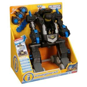 Imaginext Batman Remote Control Transforming Batbot Tank Robot With 100 Sounds