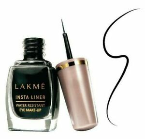 Lakme Insta Eye Liner, Black, For Woman, 9ml USA F.S