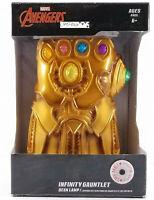 Marvel Avengers Infinity Gauntlet Led Light Up Infinity Stones Desk Lamp