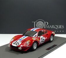 Ferrari 246 GT DINO #46 24h LeMans 1972 Laffeach / Doncieux 1:12 TOP MARQUES